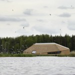 Tåkern Visitor Centre by Wingårdhs