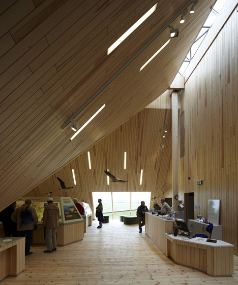 Takern Visitor Centre by Wingardhs