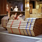 Tube Tank TRIWA pop-up shop by Modelina Architekci