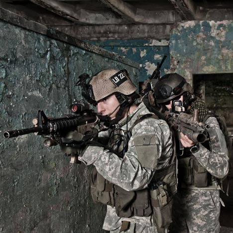 US army, image from Shutterstock