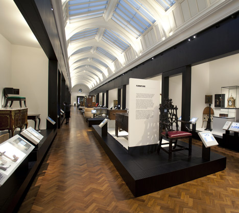 V&A opens new furniture gallery