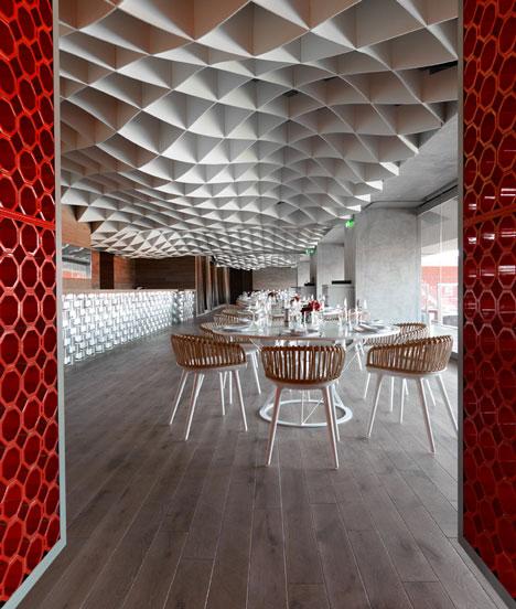 V ammos restaurant at karaiskakis stadium by lm architects