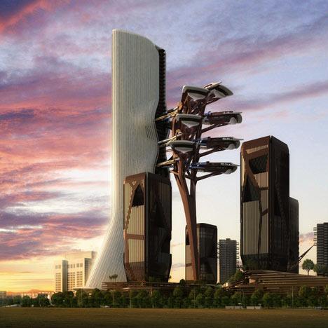Zoomlion Headquarters International Plaza by amphibianArc