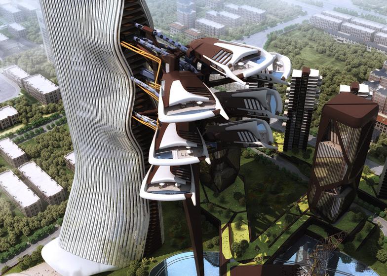 Option one - single tower