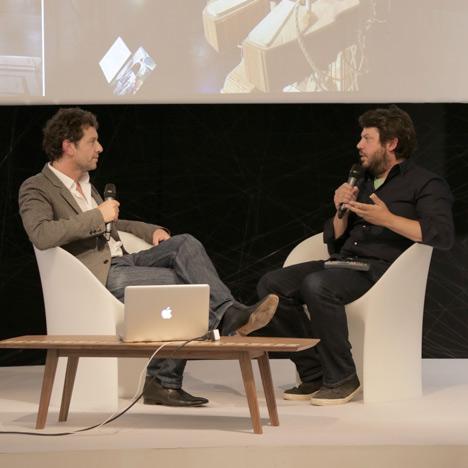 Daniel Charny at Dezeen Live