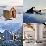 Dezeen archive: winter retreats