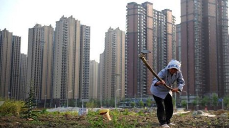 Generic high-rise residential blocks
