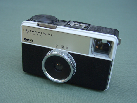Kodak Instamatic 33 by Kenneth Grange