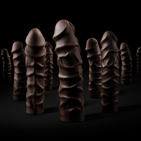 8 Inches of Dark Chocolate Cock Filled With by United Indecent Pleasures