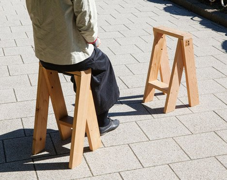 AA Stool by Torafu Architects
