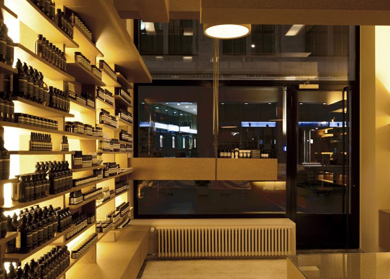 Aesop Bärengasse, Zürich, by March Studio