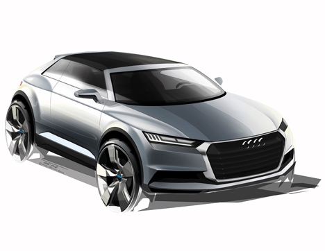 Audi's new design strategy and Crosslane Coupé