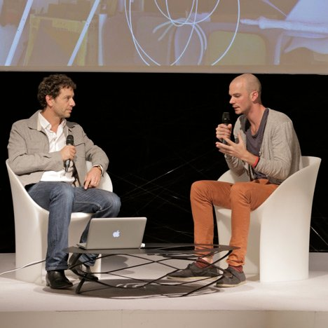 """It's all about brand – a designer's name is powerful"" – Benjamin Hubert at Dezeen Live"