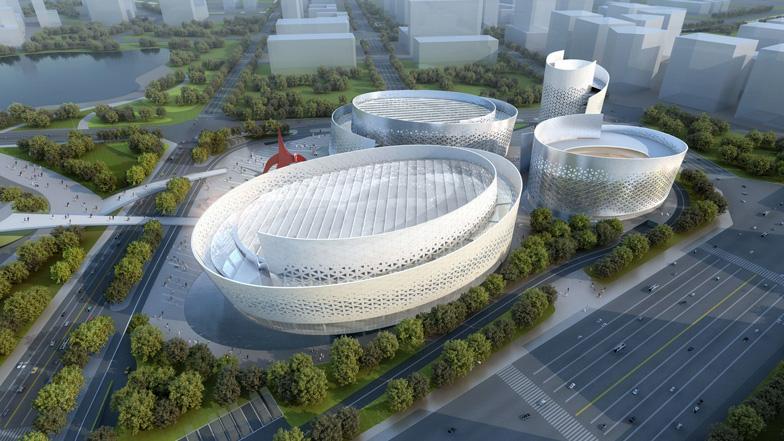 Chengdu Tianfu Cultural and Performance Centre by Massimiliano and Doriana Fuksas