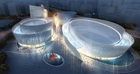 Chengdu Tianfu Cultural and Performance Centre by Massimiliano and Doriana Fuksas