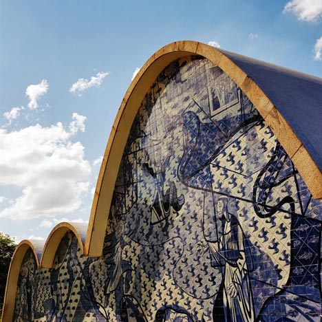 Church of Saint Francis of Assisi by Oscar Niemeyer