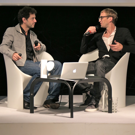 """Software is now an integral part of a physical object"" – Clemens Weisshaar at Dezeen Live"