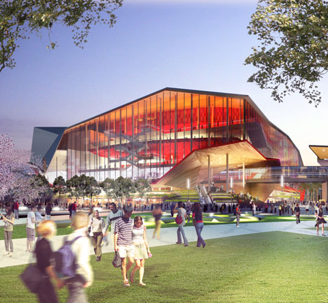 Darling Harbour, Sydney, by OMA, Populous and Hassell