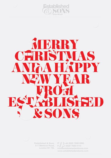Designer Christmas cards