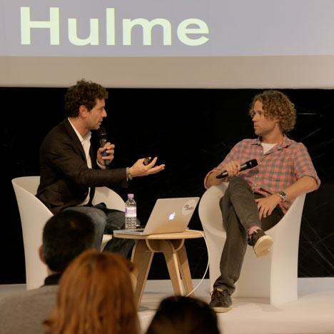 """Designers should be more entrepreneurial"" - Tom Hulme at Dezeen Live"