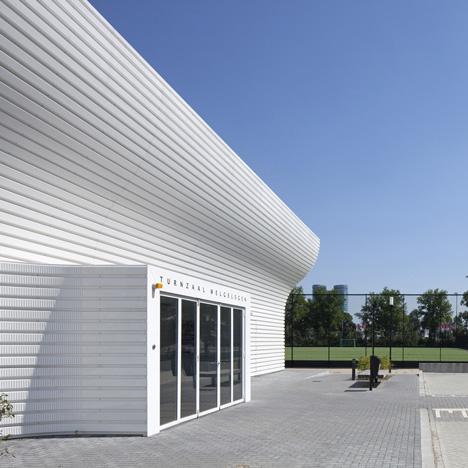Gym Hall Nieuw Welgelegen<br /> by NL Architects