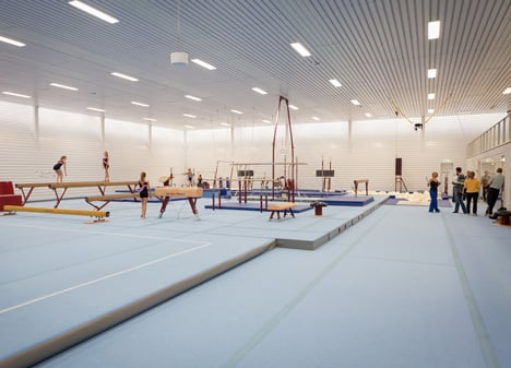 Gym Hall Nieuw Welgelegen by NL Architects