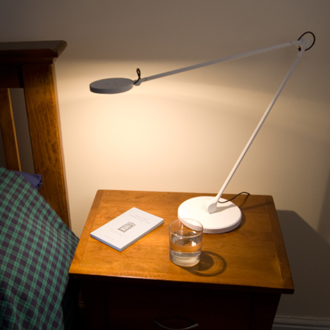 Harvey LED task lamp launched on Kickstarter