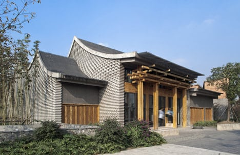 Contemporary chinese architecture for Modern chinese house design