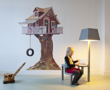Little Triple Chair by Frederik Roijé