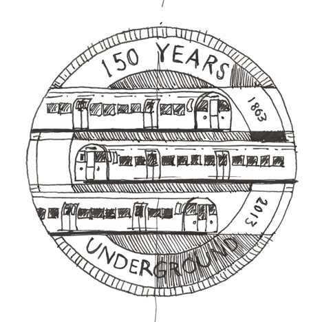 150th anniversary tube map