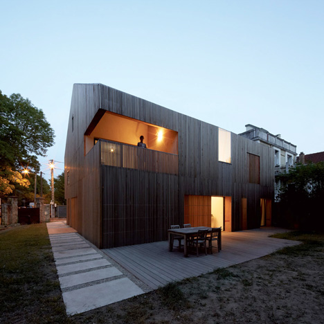 Maison 2G by Avenier and Cornejo Architectes