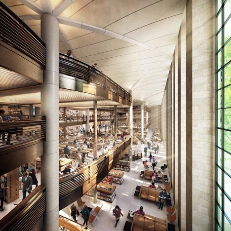 Foster + Partners' plans for New York Public Library