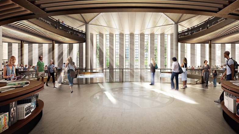 New York Central Library by Foster + Partners