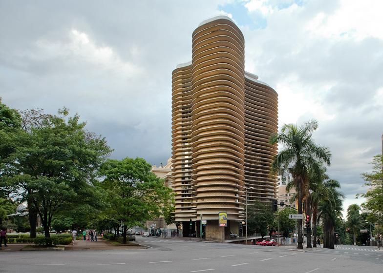 Niemeyer Building in Belo Horizonte