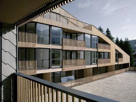 Shopping Roof Apartments by OFIS Arhitekti