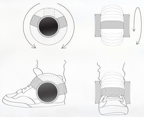Sneaker speaker sketch design