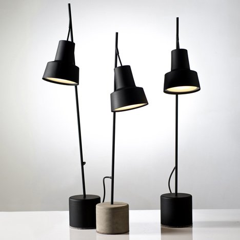 Spot table lamps by Nir Meiri