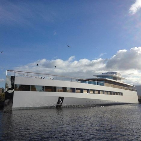 Steve Jobs' yacht completed
