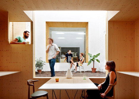 Studio renovation by MAIO