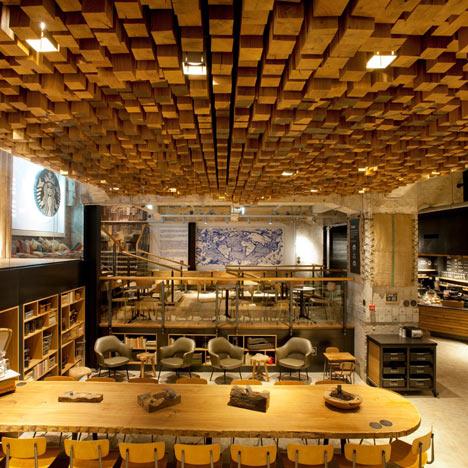 The Bank by Liz Muller for Starbucks