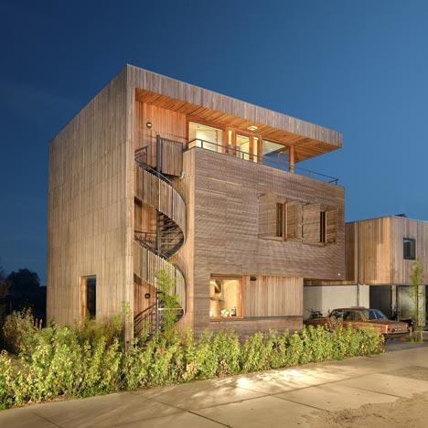 Villa Rieteiland-oost by Egeon Architecten