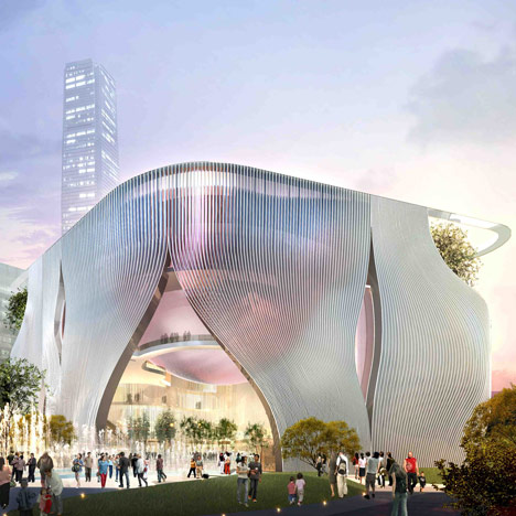 Xiqu Centre by Bing Thom and Ronald Lu