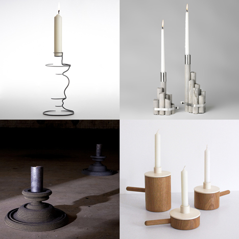 Dezeen archive: candle holders