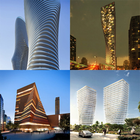Dezeen archive: twisted buildings