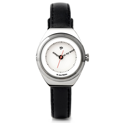 Always on my mind by Mr Jones Watches at Dezeen Watch Store
