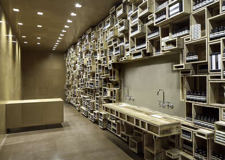 Aesop fillmore street by nadaaa for Design outlet hamburg