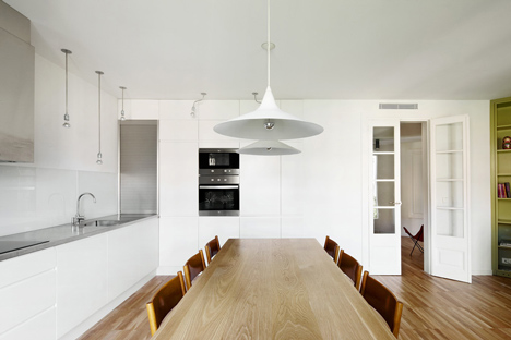 Apartment Refurbishment in Barcelona by M2arquitectura