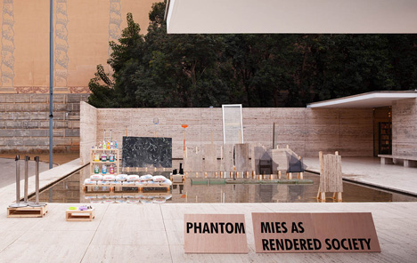 PHANTOM. Mies as Rendered Society by Andrés Jaque