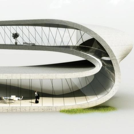 Landscape House by Universe Architecture