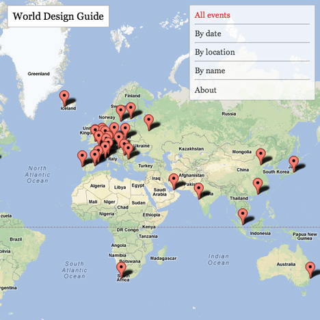 Dezeen launches World Design Guide